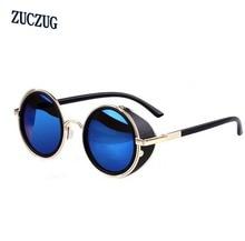New Fashion Gothic Steam Punk Glasses Brand Designer Vintage Summer Women Men Steampunk Sunglasses Oculos de sol