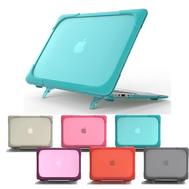 solid coque for macbook air 13 laptop case a1466 a1369 cover hard pvc laptop holder funda for