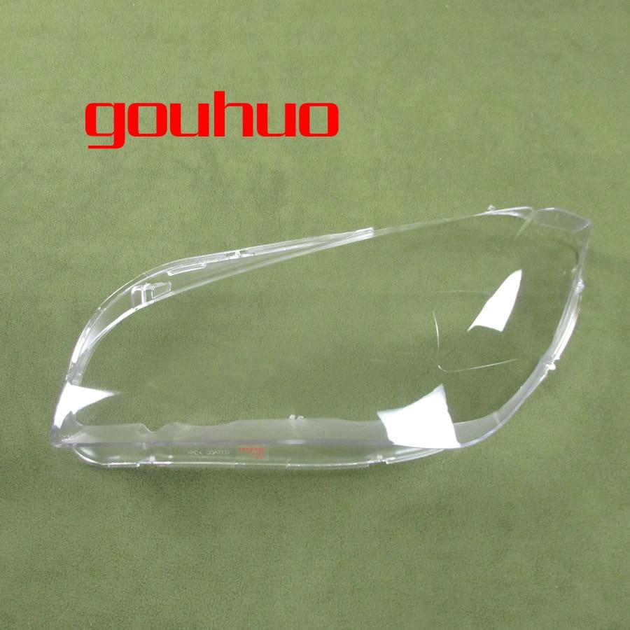 For Bmw X1 E84 10 15 Lampshade Headlamps Plexiglass Cover Headlight Lampshade Headlights Shell Glass Lens  2pcs