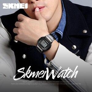 Image 5 - SKMEI модные парные цифровые часы Секундомер Календарь светящиеся уличные часы водонепроницаемые наручные часы Reloj Mujer 1456 1433