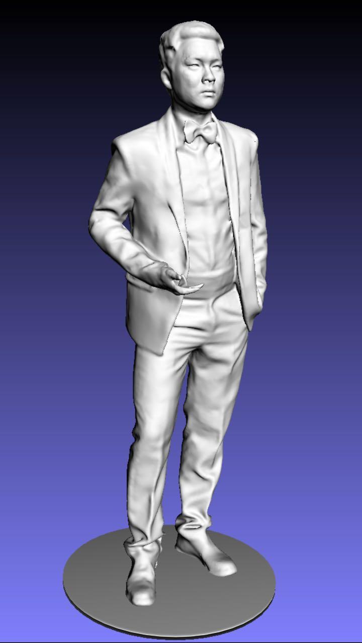 MINGDA 3D Scanner Hohe Präzision 3D Körper Scanner Schnelle Scannen 3d-objekt-scanner Set Mit 3D Scanner + Stent + Turtable