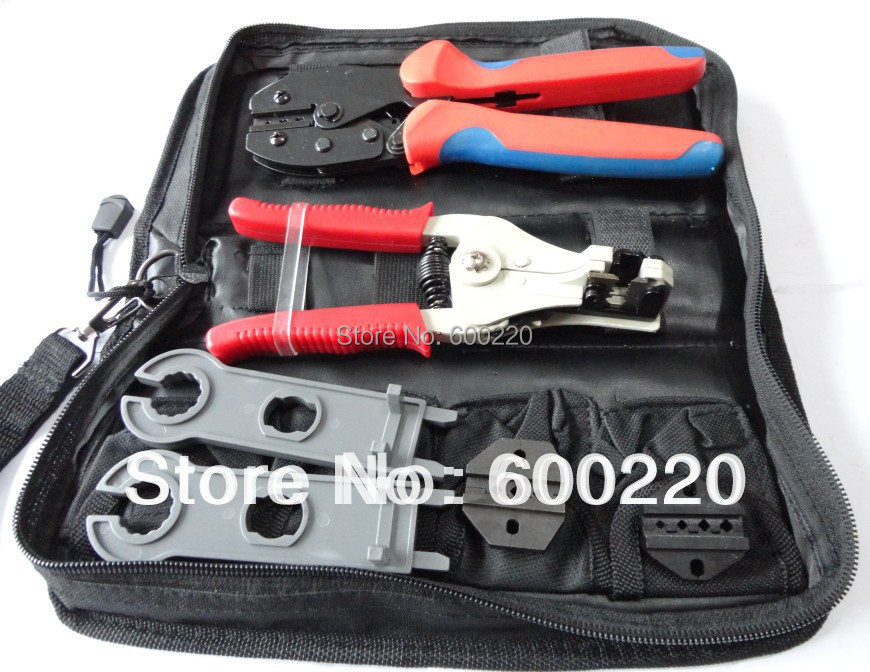 LY-K2546B-2 Solar Panel Tool Kit, PV Tool set MC4 crimping tool, PV cable stripper, MC4/MC3/tyco crimping tool in PV systerm free shipping the espresso machine use commercial semi automatic instant steam double charged coffee machine