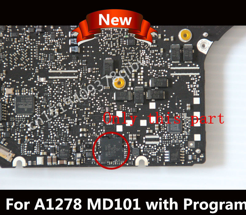 Tested A1278 SMC EC for MacBook Pro CHIP i5 i7 CPU P N 820 3115 B