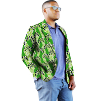 f764885749 Fashion Style African Print Suit Jacket Men Blazers African Dashiki Festive  Man Blazer For Party Africa