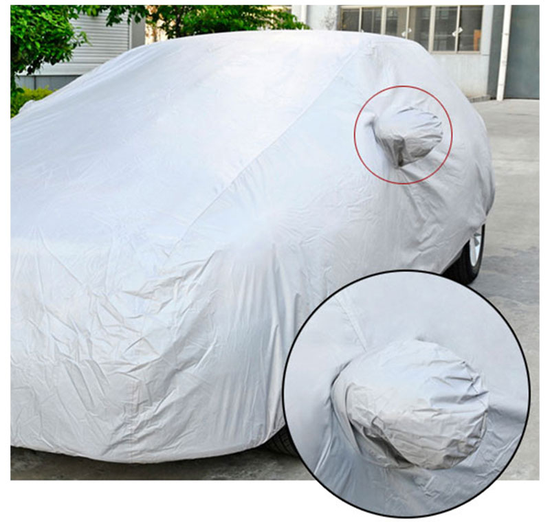 Car Cover Sedan SUV Tent Covers Sun Reflective Shade Rain Frost Snow Dust Waterproof Protection Anti UV Outdoor Car Accessories (10)