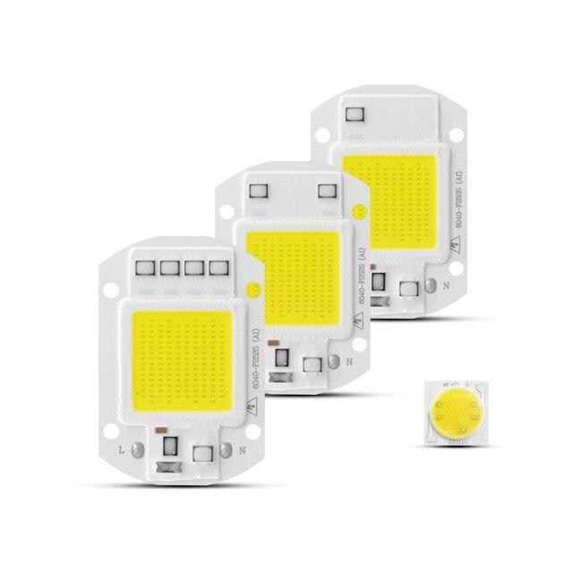 COB LED Chip AC 220V 3W 5W 7W 9W 20W 30W 50W Led light Diode Smart IC Driver For DIY LED Floodlight Spotlight Bulb