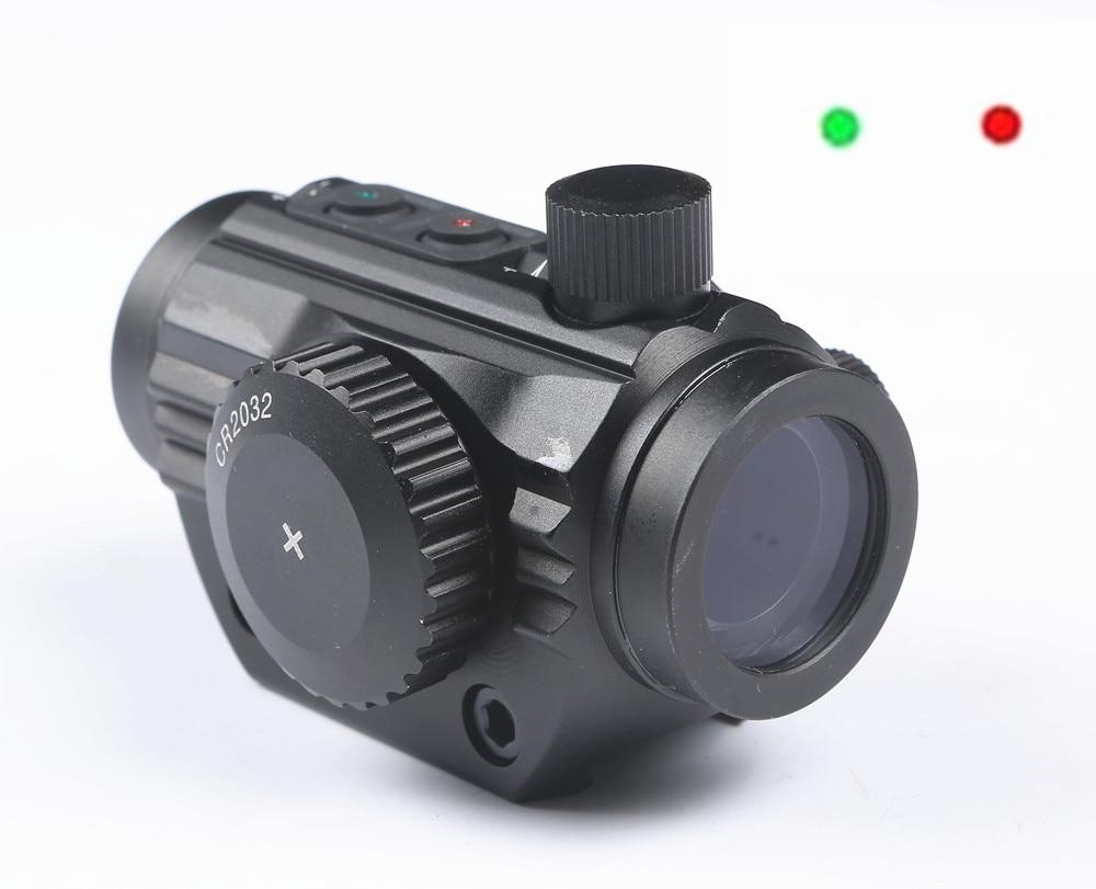 Caccia Micro Red Dot mirino Laser Glock airsoft puntino rosso per Glock 19 23 22 17 21 37 31 20 34 35 37 38 pistola del Fucile di Airsoft