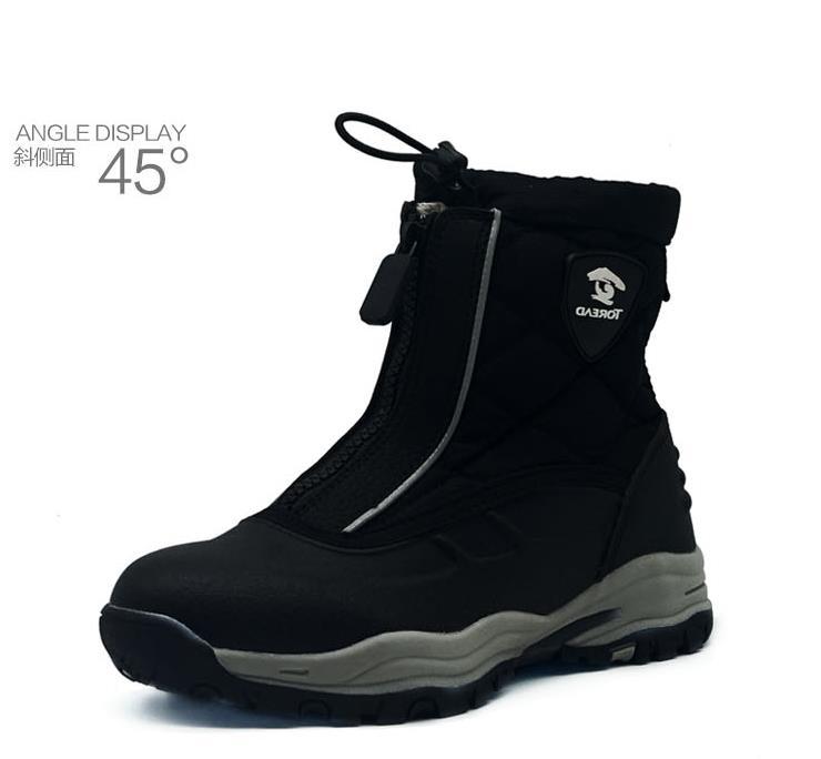 fashion 1pair winter warm Waterproof Snow Boots comfortable children shoes ,KID/boy/girl non slip cotton padde Boots