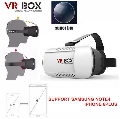 3D font b VR b font Box Head Mount Cardboard 2 0 Virtual Reality font b