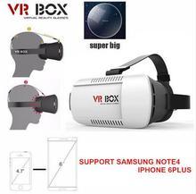 3D VRกล่องหัวหน้าเมากระดาษแข็ง2.0ความจริงเสมือนVRชุดหูฟังแว่นตา3Dมือถือภาพยนตร์ที่สมจริงเกม+บลูทูธระยะไกลควบคุม