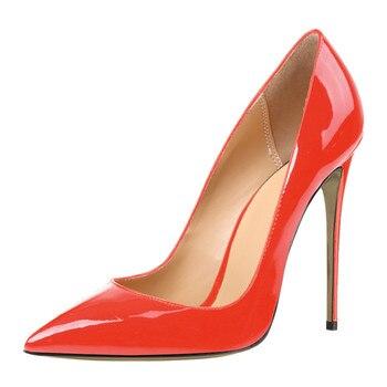 ARQA 2019 Spring Women Shoes High Heel Women Pumps Dress Womens Party Dancing Shoes woman Zapatos Mujer Plus size 34-48 PU 6