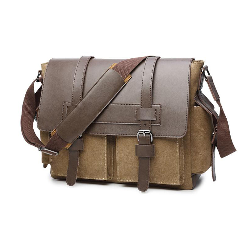 High Quality Men Messenger Bags Fashion Travel Bolsa Masculina Men's Crossbody Bag Men Canvas Bag sac homme 2018 New