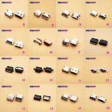 18Model Type C USB Female Jack C micro USB 3.1 Power jack socket Connector Charge charging Dock port Plug