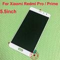 Garantia de alta qualidade hongmi pro lcd screen display toque digitador assembléia para xiaomi redmi pro/prime substituição telefone