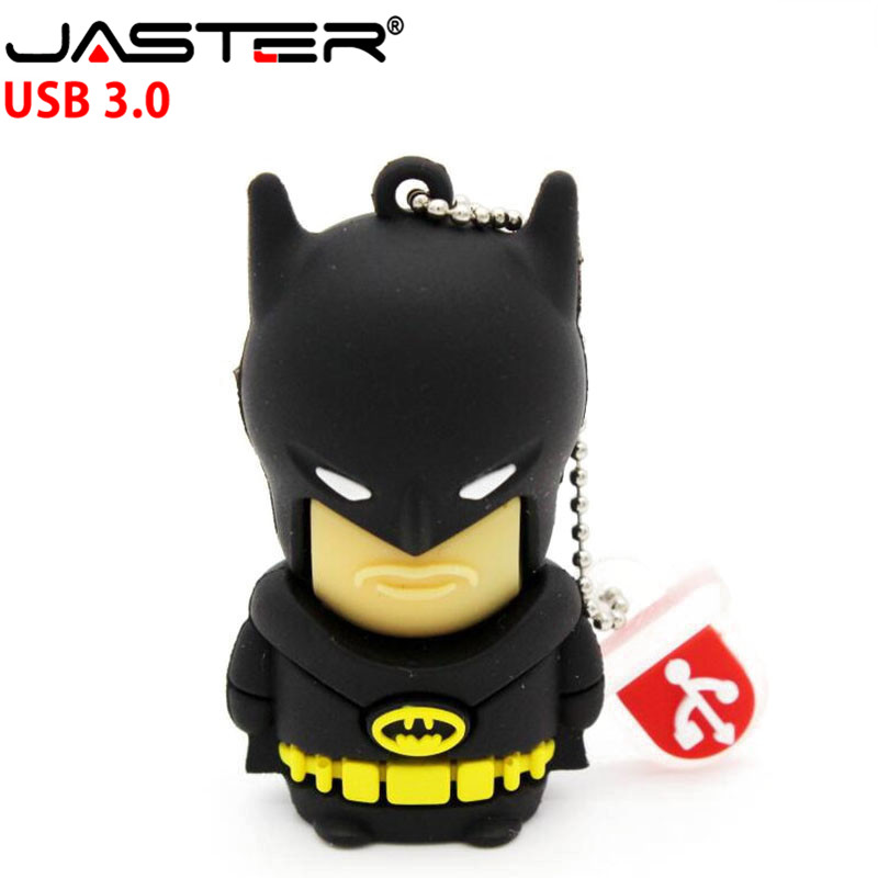 JASTER 3.0 Batman Usb Flash Drive Pendrive 4gb 8gb 16gb 32gb 64gb Memory Stick U Disk Gift Pen Drive Origian Super Hero