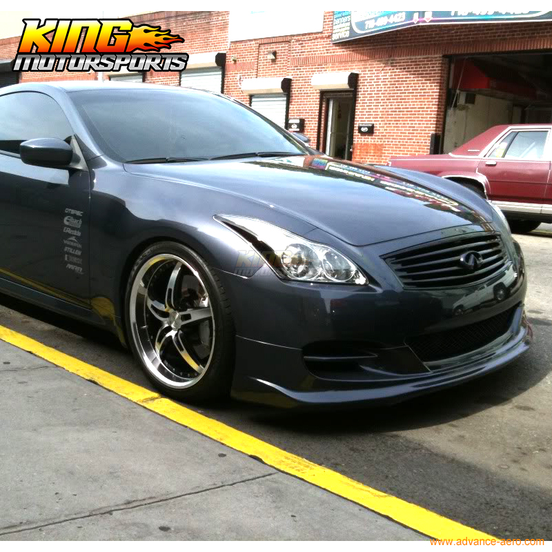 For 2008 2014 Fit For Infiniti G37 2dr Coupe Ts Style Front Bumper