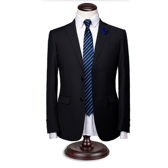 Мужские костюмы куртки стильный элегантный жених свадебный смокинги куртка сплошной цвет однобортный формальные деловые костюмы куртка