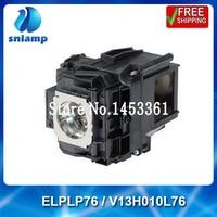 Snlamp 교체 ELPLP76/V13H010L76 하우징 EB-G6350 EB-G6450WU EB-G6550WU EB-G6650WU EB-G6750 등