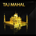 Taj Mahal 3D Metal Puzzle DIY Assembly Building Toy For Boy The World's Famous Architecture Jigsaw Puzzles Educational Kids Toys