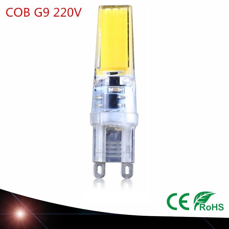 New Bombillas <font><b>G9</b></font> <font><b>LED</b></font> Light AC 220V 240V 9W Lampada Chandelier <font><b>COB</b></font> <font><b>LED</b></font> Lamps Crystal Chandelier <font><b>LED</b></font> Bulb <font><b>G9</b></font> Ampoule Candle Luz