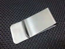 TEXU stainless steel money clip Silver man Money Clip slim High Quality