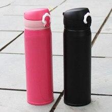 450 ml Frascos de Vacío de Acero Inoxidable de Doble Pared Con Aislamiento Termo Taza de Consumición de la Botella de la Botella de Agua