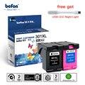 Befon 301XL Заправляемый картридж Замена для hp 301 XL hp 301 с чернилами hp DeskJet 1050 2050 3050 2150 3150 1010 1510 2540 принтер