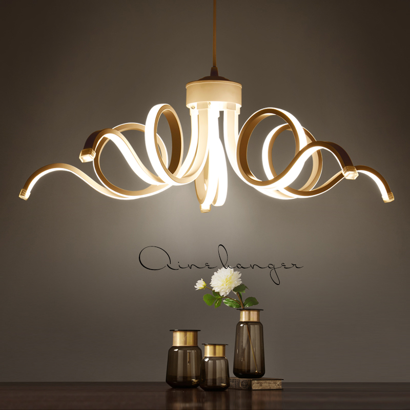 Led Modern Chandelier Lighting Novelty Lustre Lamparas Colgantes Lamp for Living Dining Room luminaria Indoor Light Chandeliers