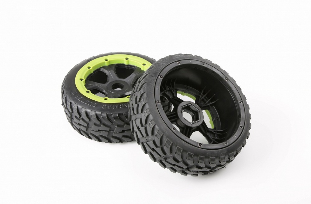 1/5 scale rc car spare part new front on road tyre set for HPI Rovan Baja 5B