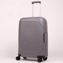 81b8d60864309 المرأة الأزياء الأمتعة حقيبة سفر حقيبة مع TSA قفل تحمل على الرجال عربة حقيبة  على عجلة