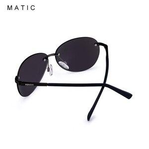 Image 4 - MATIC נהג חום מקוטב ללא שפה תעופה משקפי שמש לגברים נהיגה טייס בציר רטרו סגלגל זכר שמש משקפיים uv400 יוניסקס