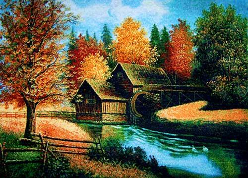free shipping big size wallgobelin tapestries scenery style picture rh aliexpress com