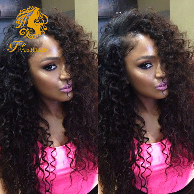100 Virgin Human Curly Lace Closure Remy Full Sew In Hair