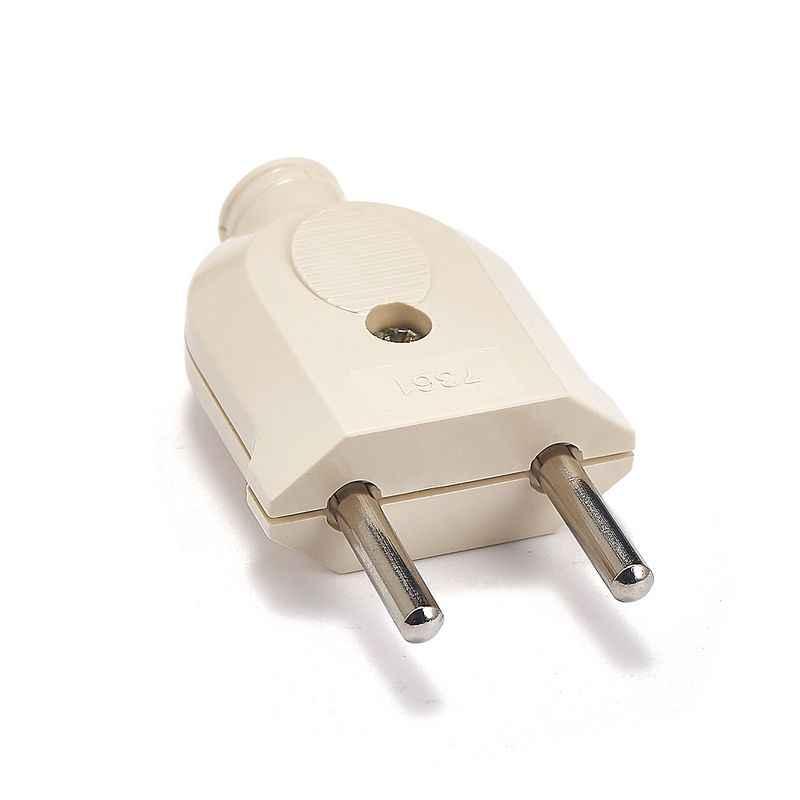 Ue europejski 2 Pin prądu zmiennego prądu przemiennego Rewireable gniazdo mężczyzna kobieta okablowanie wtyczki zasilania przedłużenie kabla przewód złącze kabla