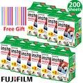 20-100 листов Fuji Fujifilm Instax Mini 9 пленка для фотобумаги с белыми краями 10-200 шт. для камеры Instant Mini 11 8 7s 25 50s 9