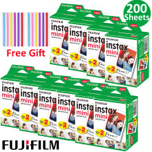 20-100 sheets Fuji Fujifilm Instax Mini 9 Film White Edge Photo Paper Films 10-200 pcs For Instant Mini 8 7s 25 50s 9 90 Camera(Hong Kong,China)