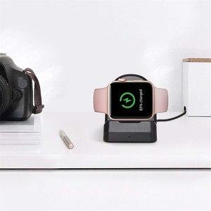 Image 3 - Kablosuz şarj Dock standı tutucu Apple için İzle serisi 4 40/44mm Dropshipping Oct.5
