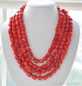 1727f0022a08 Negro perla de agua dulce collar largo 7-8mm 100 inches DIY de joyería de  moda collar hermoso al por mayor Y al por menor