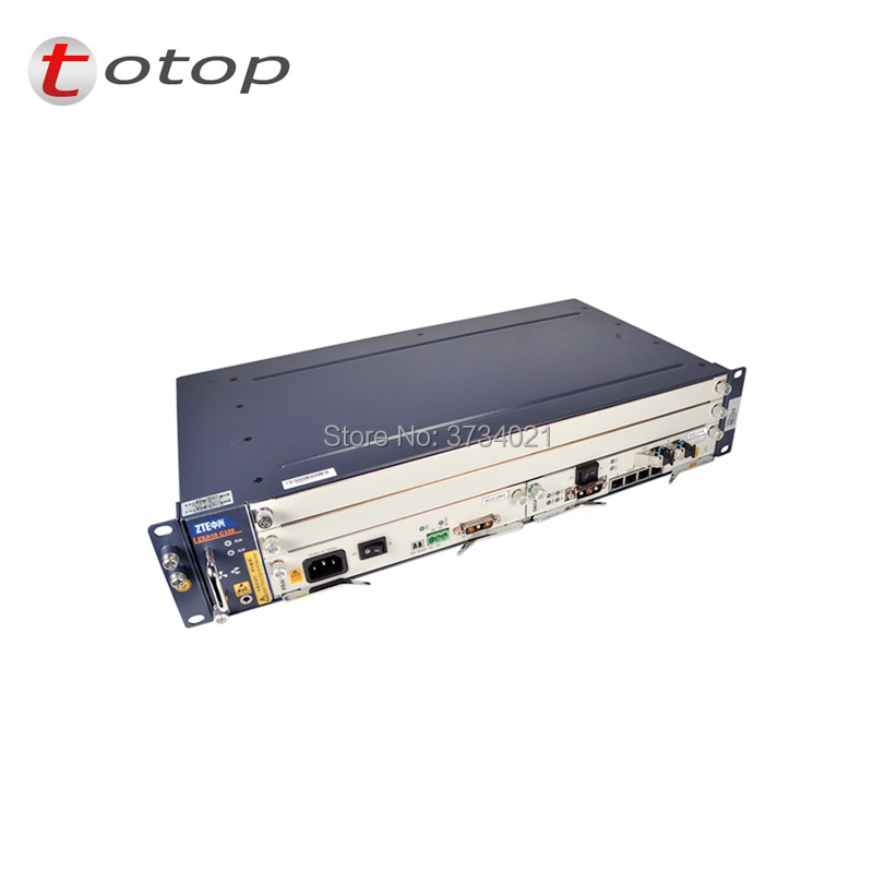 TOP SALES OF ZTE ZXA10 C320 OLT with1*PRAM power supply and 2*SMXA/3 control, support GPON and EPON board