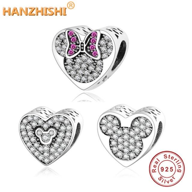 f610a5096696 Fit Original Pandora Charms pulsera Collar de plata de ley 925 de granos  del encanto del