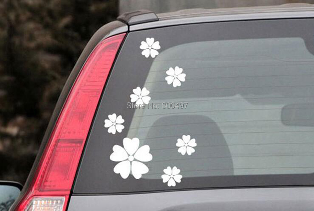 Flower Car Decal PromotionShop For Promotional Flower Car Decal - Promotional products stickers and decals