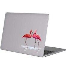 Наклейка для ноутбука с изображением фламинго влюбленных птиц, наклейка на MacBook Pro Air retina 11, 12, 13, 14, 15 дюймов, hp, Dell, Mac, книга, наклейка для ноутбука