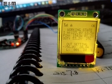 E&M 96*64 STN Screen  Display Modul Raspberry Pi Shield Resistance LCD IC SPI I2C Interface ST7585