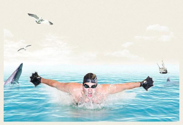 Sports Webbed Diving Gloves