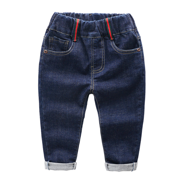 spring boys jeans pants cotton baby pants spring and autumn