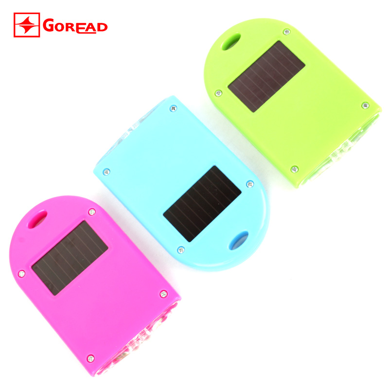 Goread e02 solar key lamp power generation lamp mini flashlight gift lights