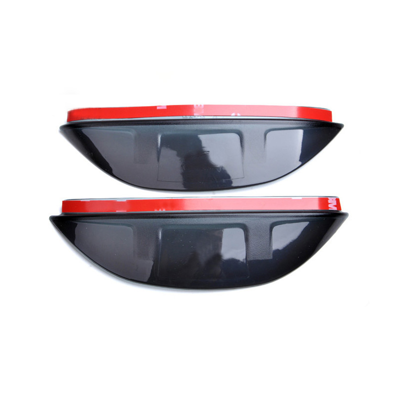 Car Styling Rearview Mirror Eyebrow Rainproof Flexible Blade Protector PVC Accessories For Ford Mondeo Fusion 5 2013 2014 2015