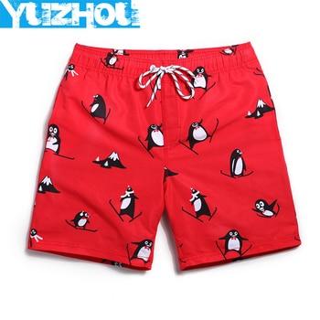 Board shorts mens swimming trunks surf swimwear beach short swimsuit running shorts
