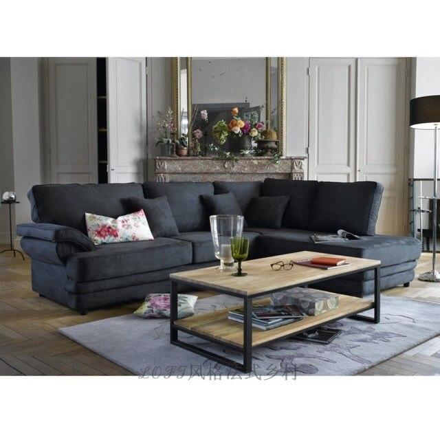 Dachboden Amerikanischen Landhausstil Schmiedeeisen Schmiedeeisen  Couchtisch Wohnzimmer Couchtisch Couchtisch, Die Retro Möbel