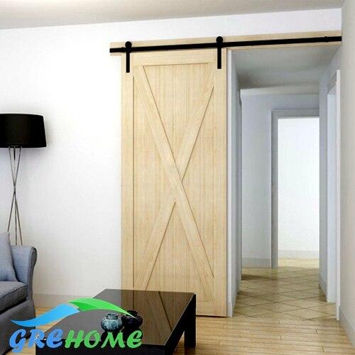 4.9FT/6FT/6.6FT Carbon steel sliding interior door prices ft f905